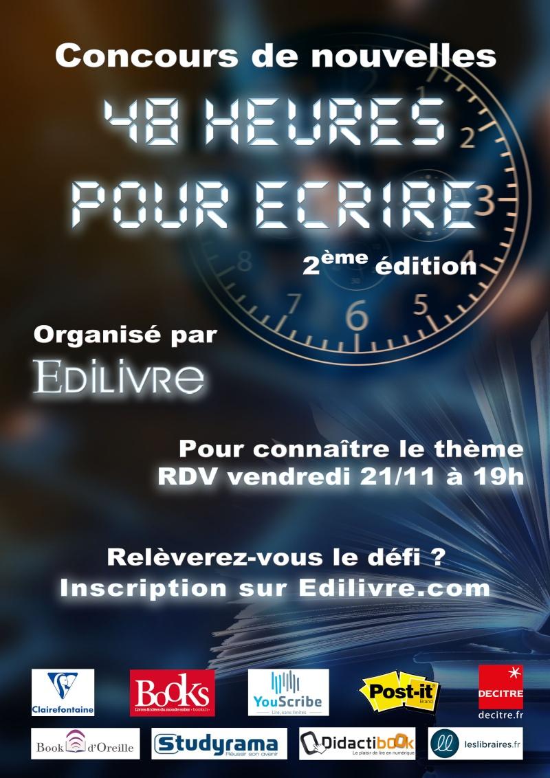 """Concours de nouvelles """"48 heures pour écrire""""  Affich10"""