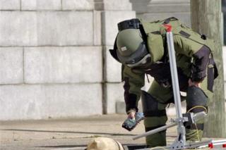 La direction générale de sureté nationale (DGSN) se dote d'une nouvelle équipe d'artificiers de police au Maroc Police14