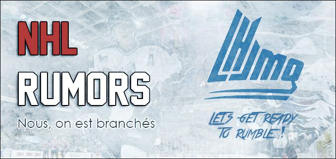 NHL Rumors, Nous, on est branchés !