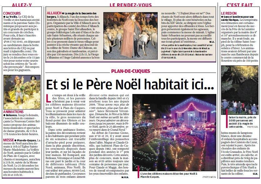 RICHE OU PAUVRE JEUNE OU VIEUX NOUS SOMMES EGAUX DEVANT LA FEERIE DE NOEL - Page 29 2612
