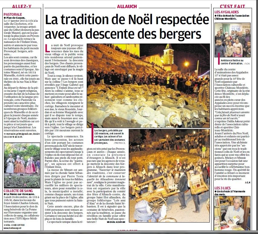 RICHE OU PAUVRE JEUNE OU VIEUX NOUS SOMMES EGAUX DEVANT LA FEERIE DE NOEL - Page 30 2715