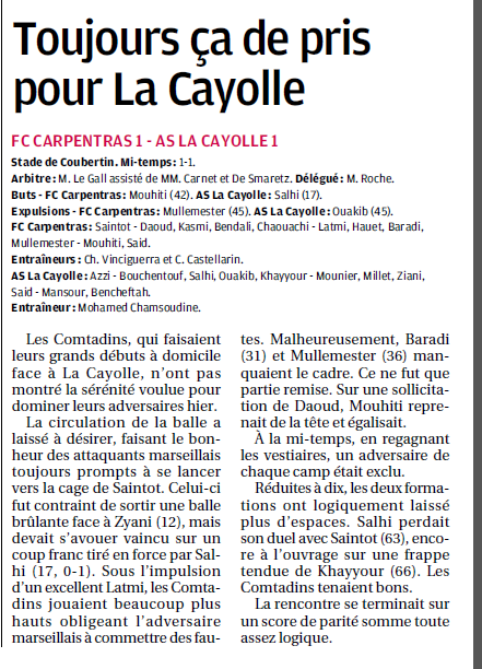 SCOC LA CAYOLLE // DHR - Page 18 3a10