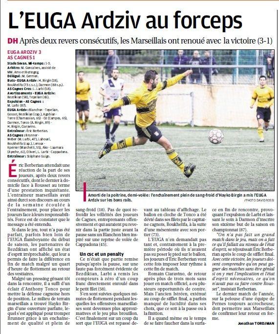 AS CAGNES -LE CROS //DH   MEDITERRANEE  - Page 18 4a11