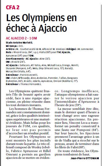 AC AJACCIO B et JEUNES // CFA2 GROUPE SUD EST G - Page 14 5a10