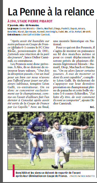 OLYMPIQUE D'ALES // CFA2  GROUPE E  - Page 11 5a12