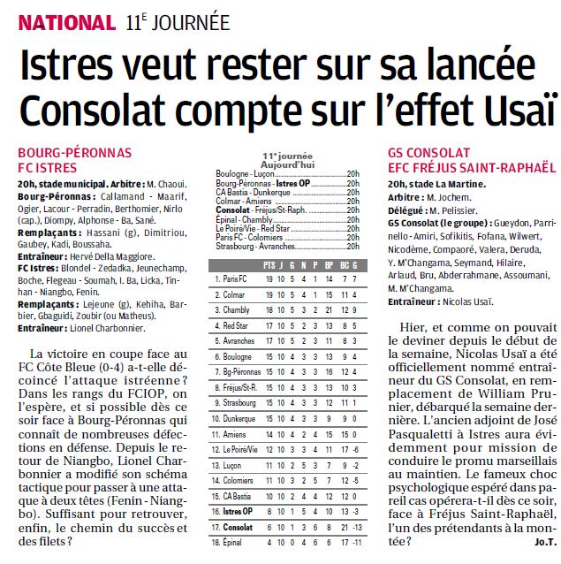 FC BOURG  EN BRESSE PERONNAS Football Bourg en Bresse Péronnas 01.  - Page 2 7a10