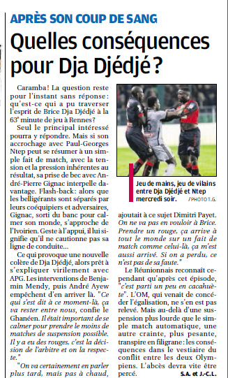 Brice Dja Djédjé. Lateral Ivoirien 23 ans, formé au... PSG - Page 2 8a11