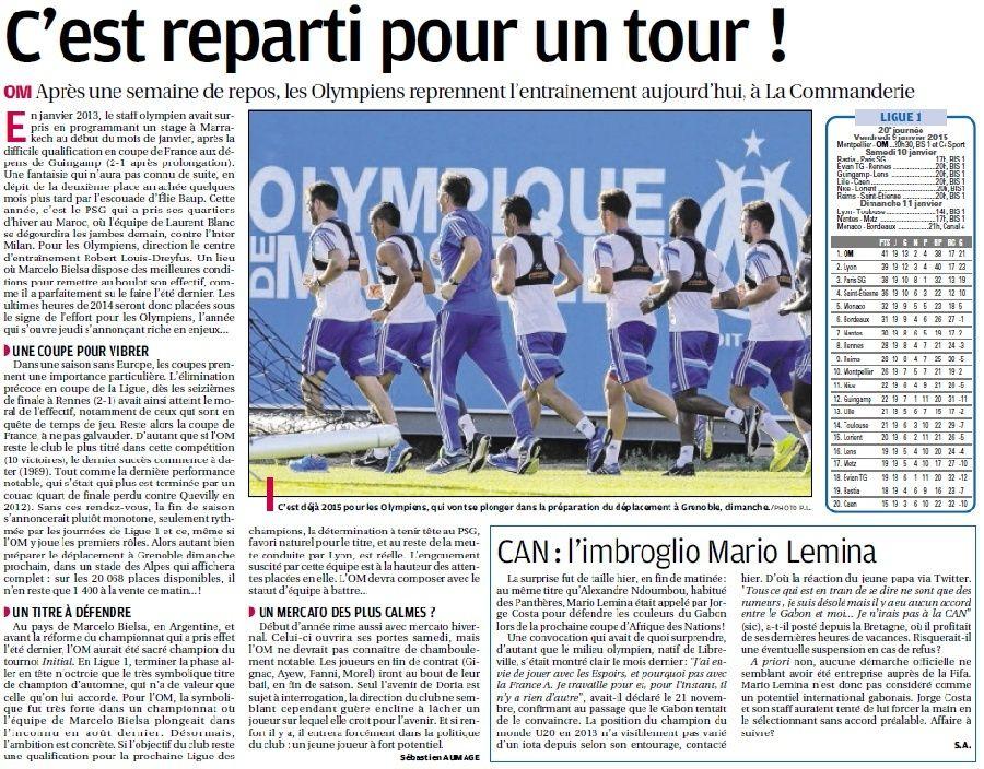 """CENTRE D """"ENTRAINEMENT ROBERT LOUIS DREYFUS ;;LA COMMANDERIE  - Page 16 8a29"""