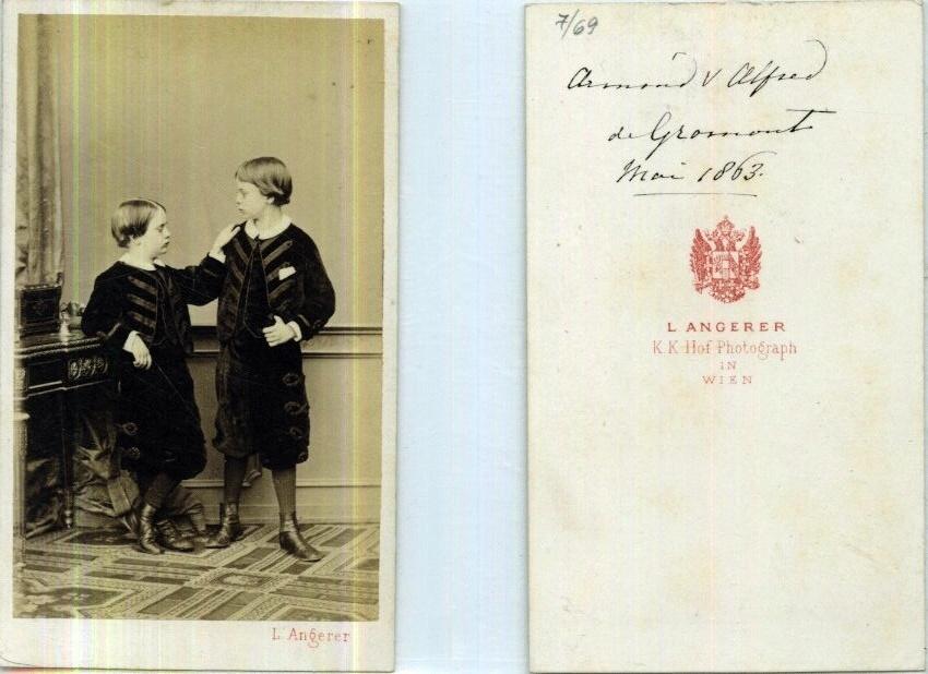 Duc de Lesparre, 1e Président du Retriever Club... Armand10