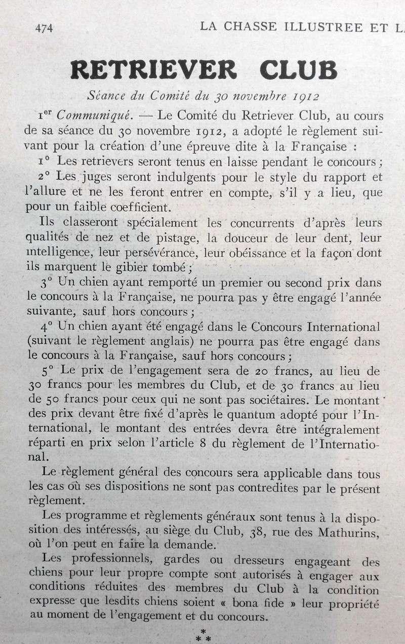 """Création des épreuves """"à la française""""... Franya10"""