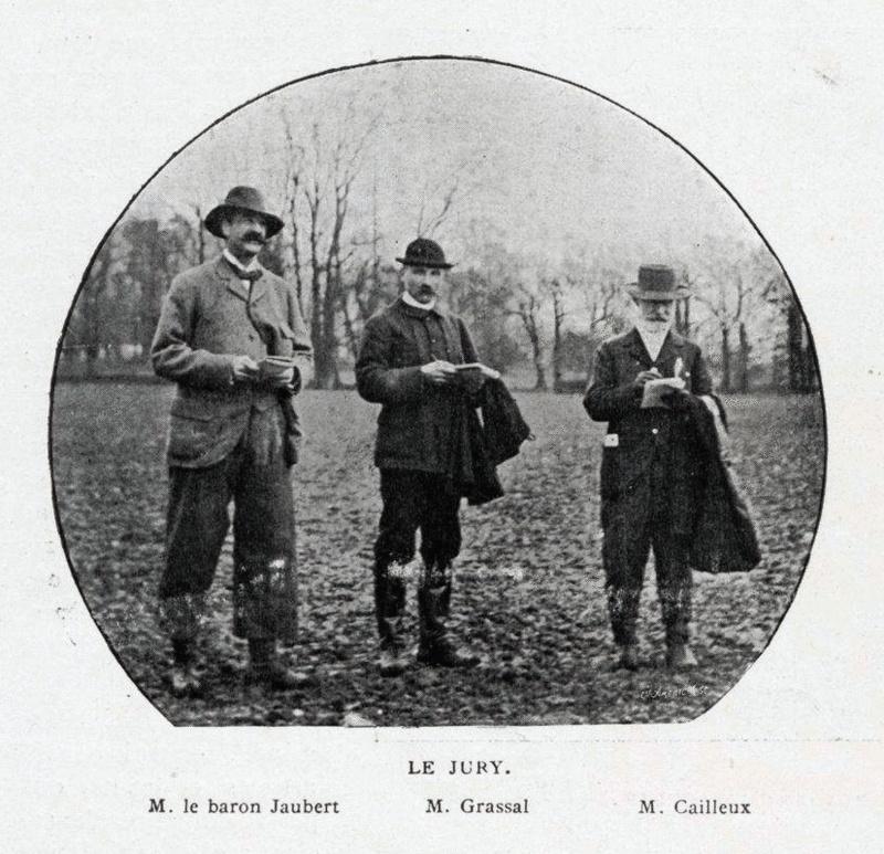 Baron Charles Jaubert, membre du premier comité du Retriever Club... Jauber11