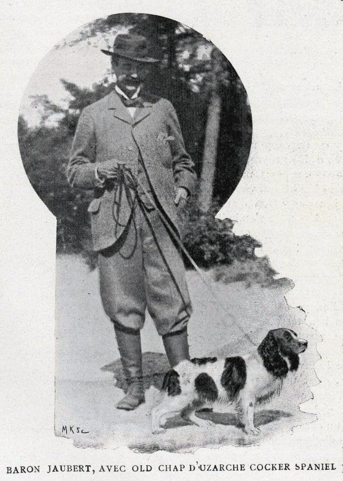 Baron Charles Jaubert, membre du premier comité du Retriever Club... Jauber13