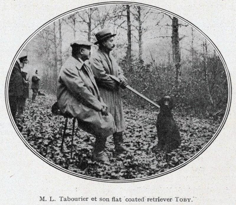 Louis Tabourier, 2e Président du Retriever Club... Tabour12