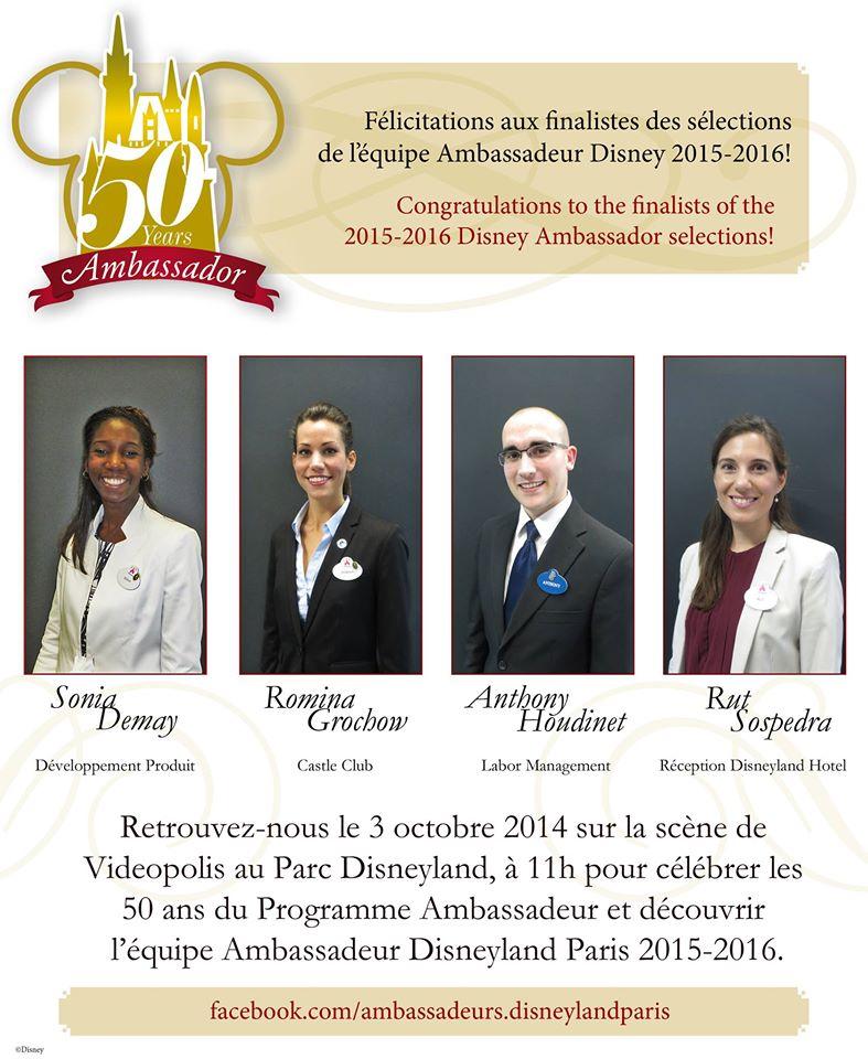 Ambassadeur Disneyland Paris 2015 - 2016  - Page 2 10679910
