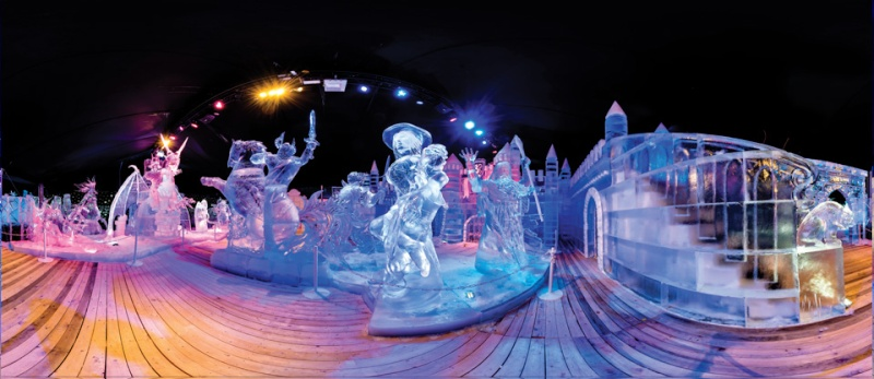 Le Festival de Sculpture de Glace Liège du 22 novembre 2014 au 4 janvier 2015  - Anvers du 29 novembre 2014 au 11 janvier 2015  12110