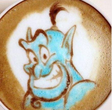 Latte Art Disney  1913