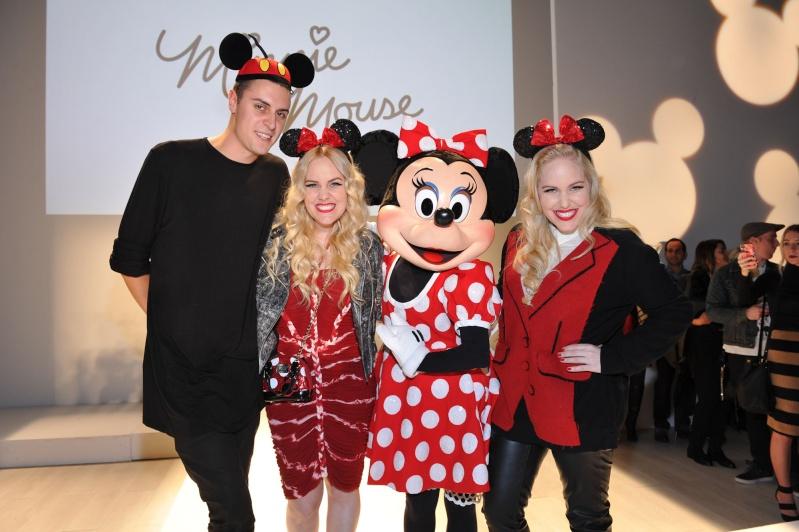 Minnie de passage à Toronto pour la World Mastercard Fashion Week 20141011