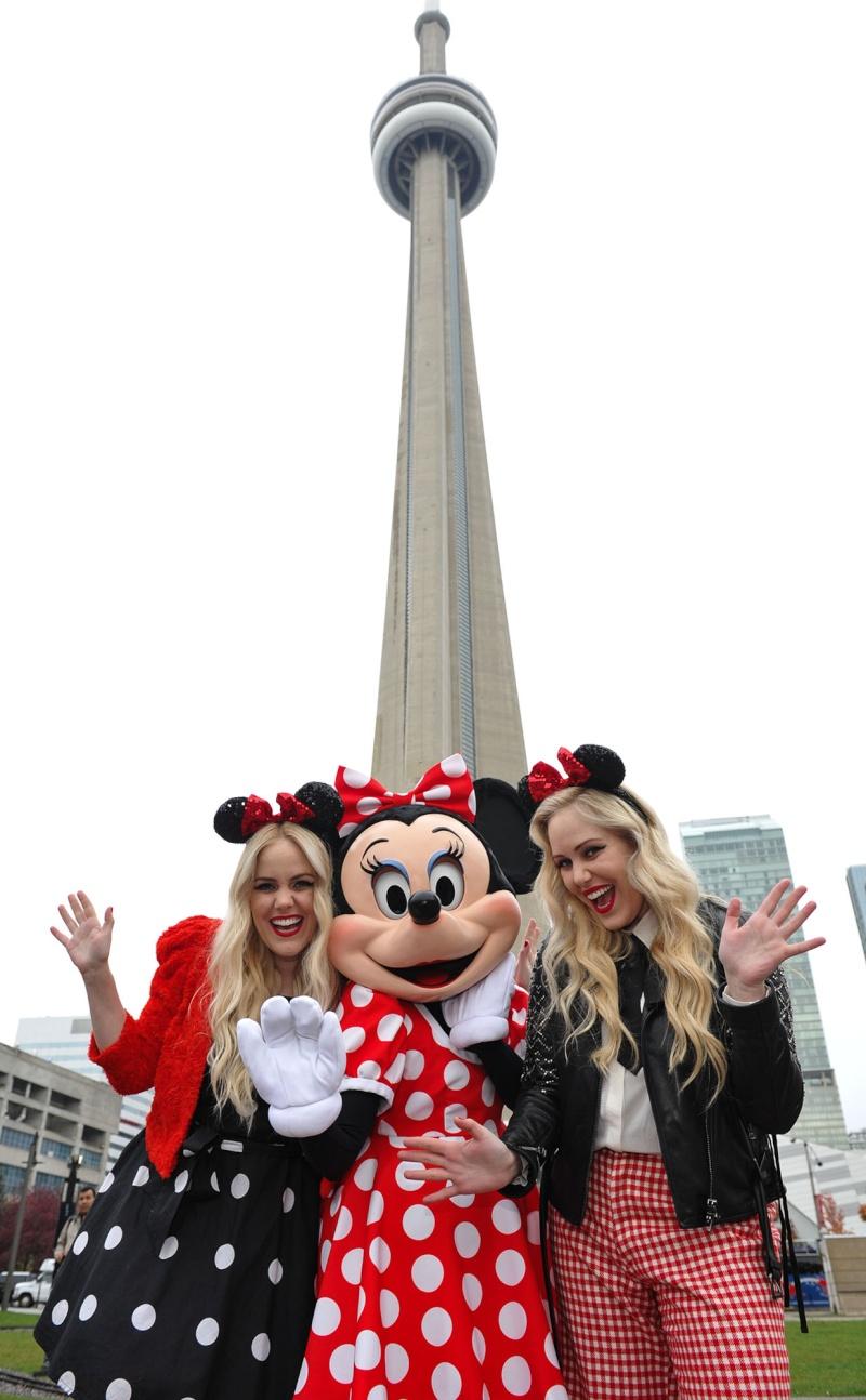 Minnie de passage à Toronto pour la World Mastercard Fashion Week 20141012