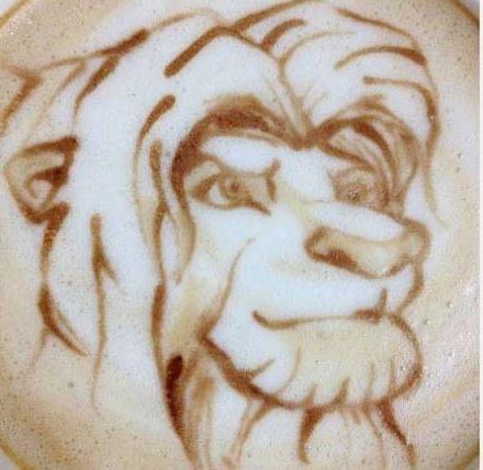 Latte Art Disney  2114