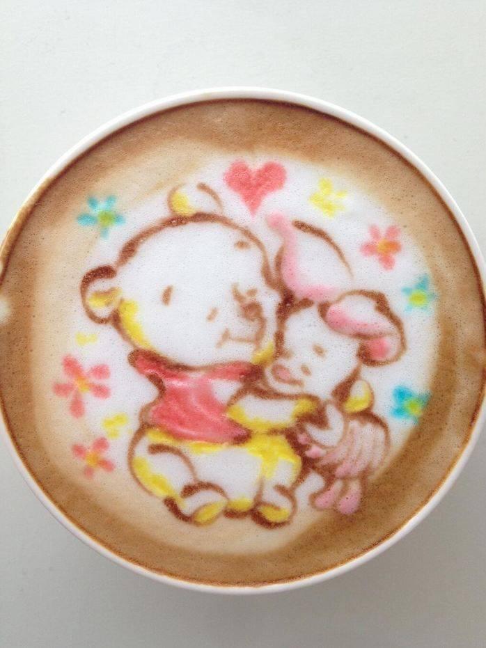 Latte Art Disney  2313