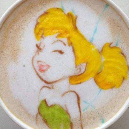 Latte Art Disney  2611