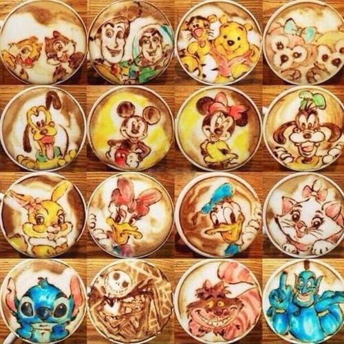 Latte Art Disney  2711