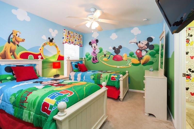 Idée déco chambre Disney 3011