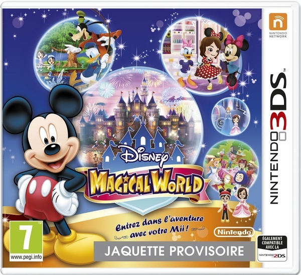 Disney Magical World  [3ds] Disney13