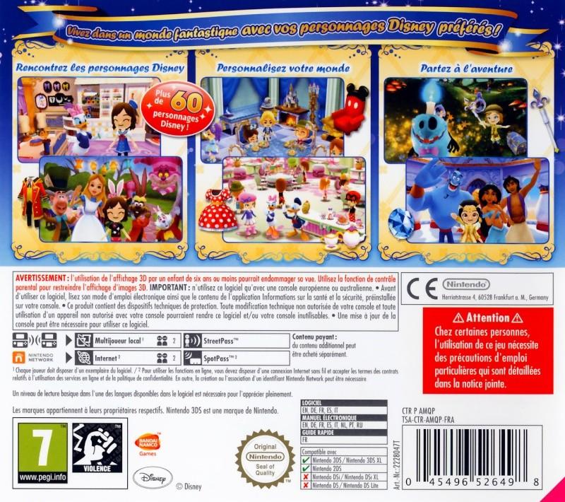 Disney Magical World  [3ds] Jaquet11
