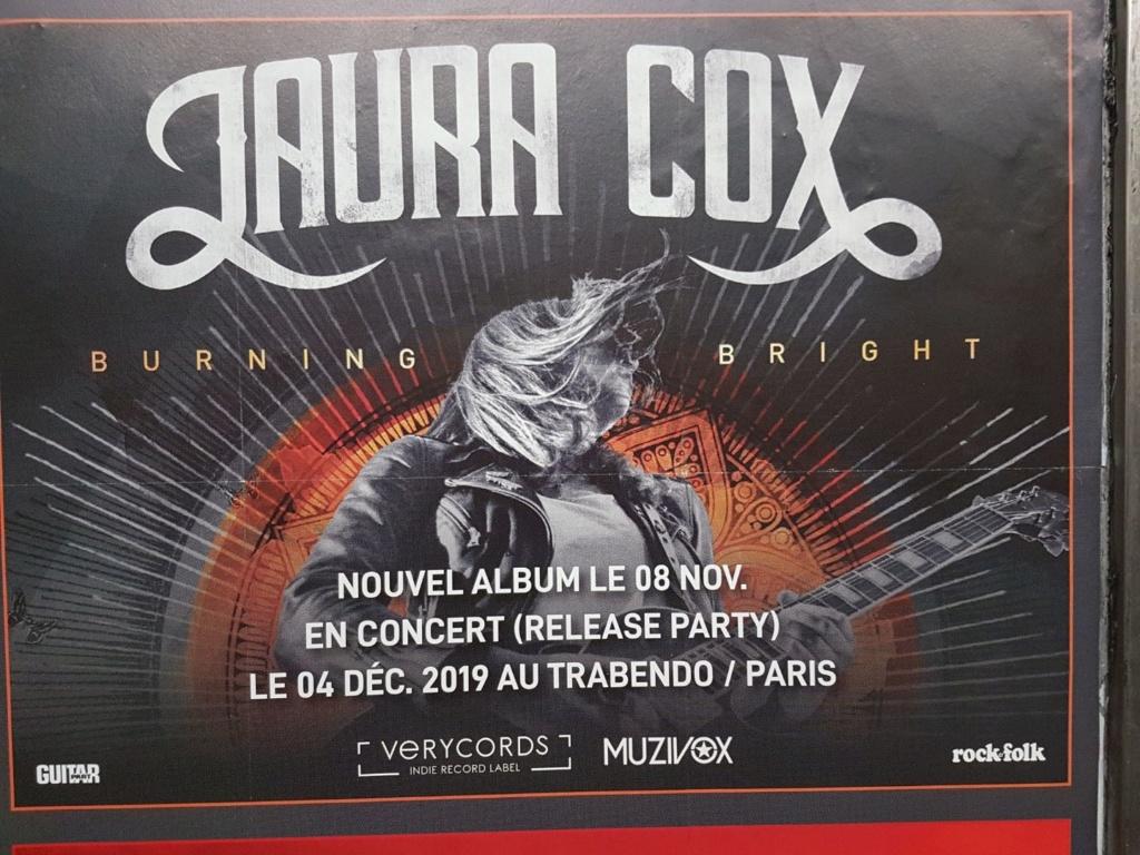 Laura COX en concert à Paris le 4 déc. 2019 :-) Resize10