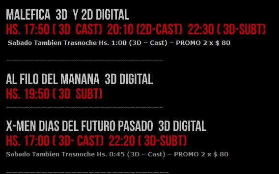 """[SALIDA] X-MEN """"Days of future past"""" 4/6 Horari10"""