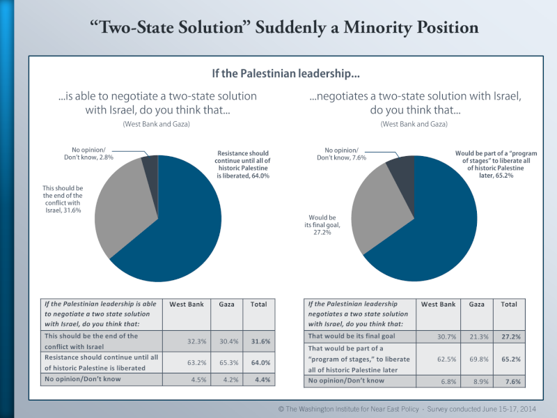 Palestinian Public Opinion Poll -  June 15-17, 2014 Palest14