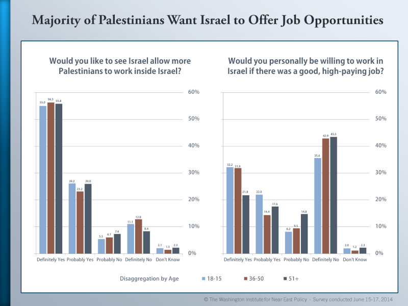 Palestinian Public Opinion Poll -  June 15-17, 2014 Palest19