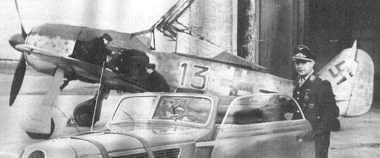 Focke-Wulf Fw-190A-5 + BMW-327 Pips Priller Prille10