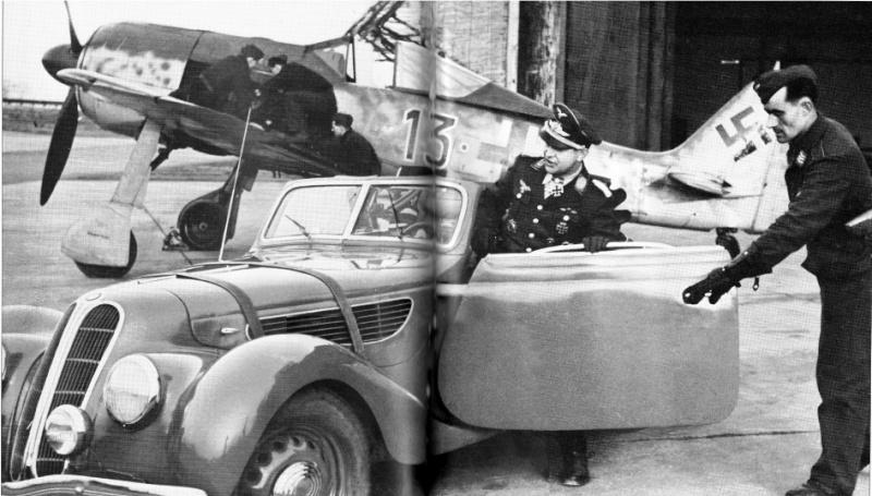 Focke-Wulf Fw-190A-5 + BMW-327 Pips Priller Prille11