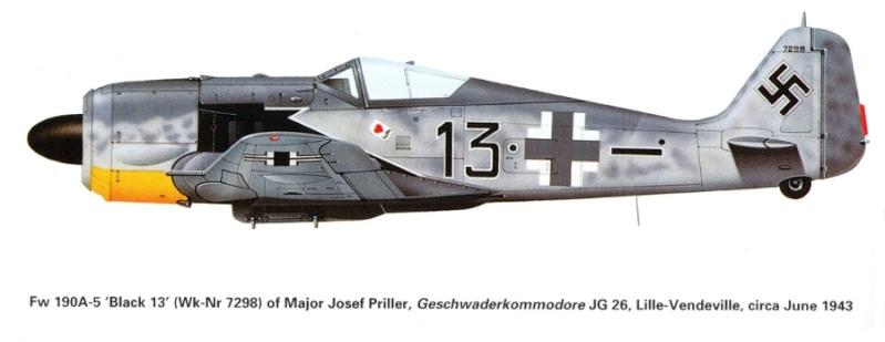 Focke-Wulf Fw-190A-5 + BMW-327 Pips Priller Prille12