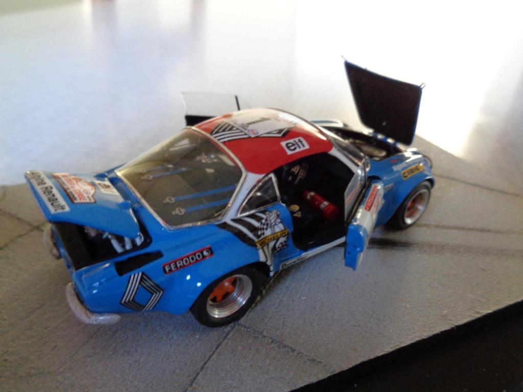 alpine a110 tour de corse  1973 kit provence miniature 15844210