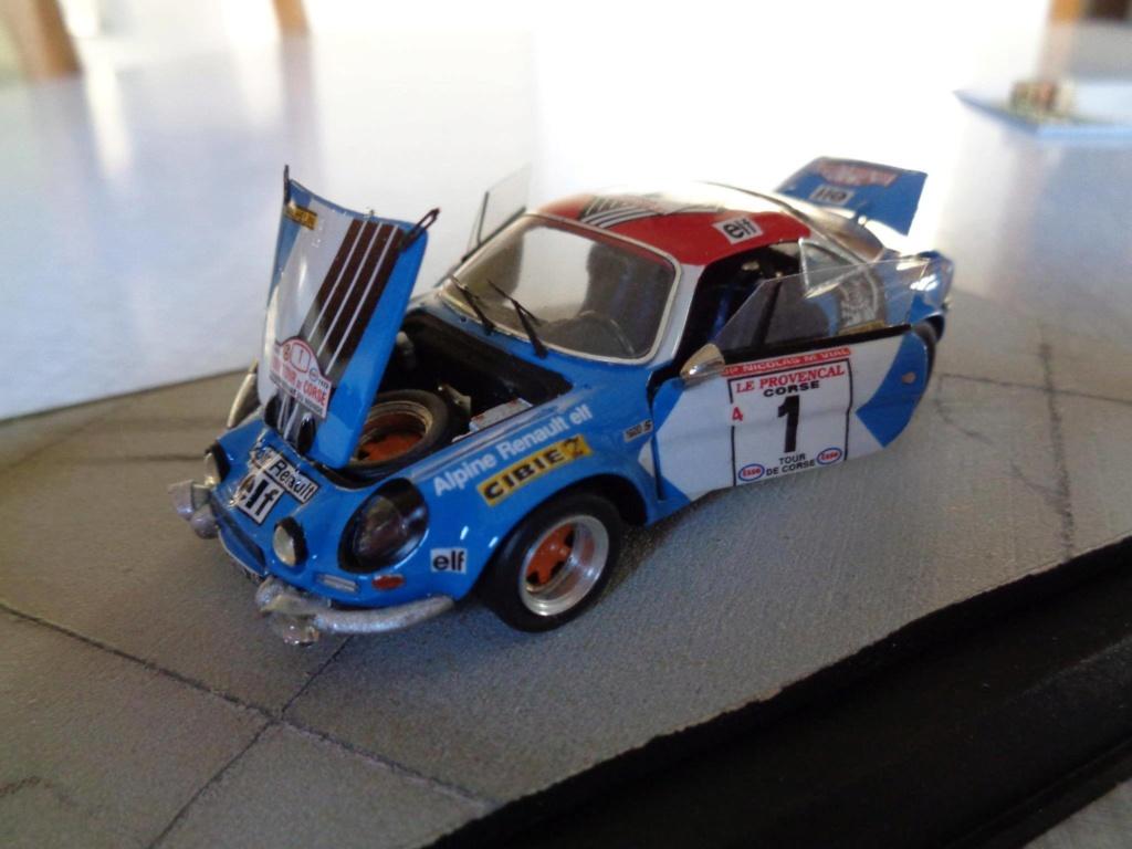 alpine a110 tour de corse  1973 kit provence miniature 15895810