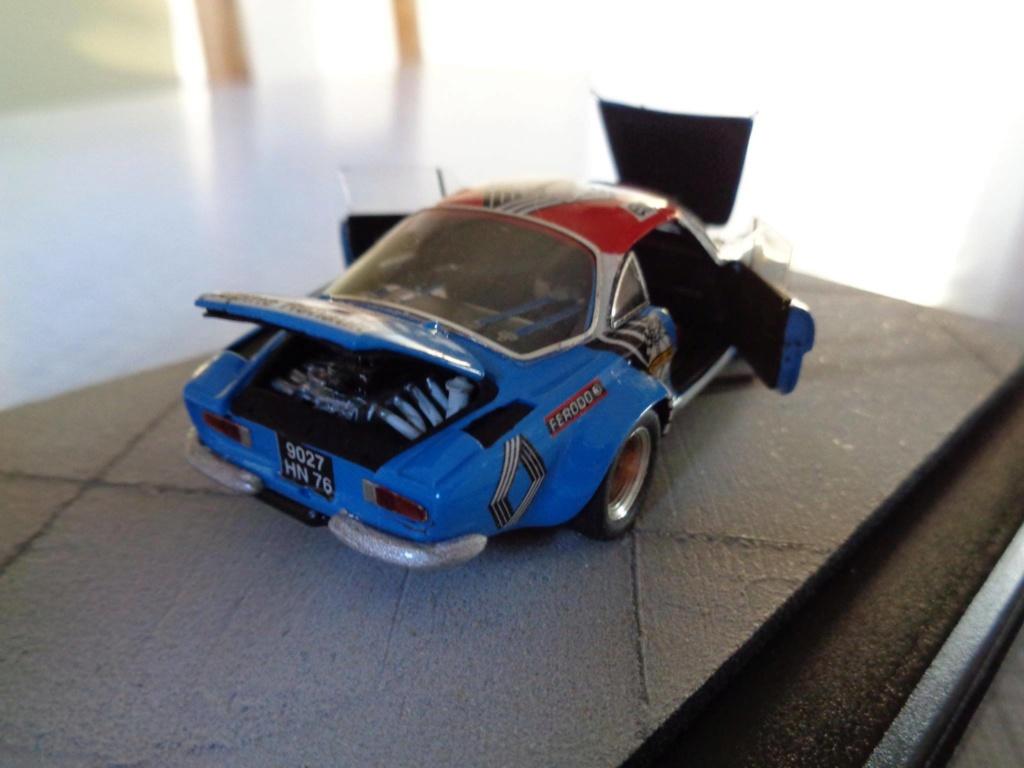 alpine a110 tour de corse  1973 kit provence miniature 15896110