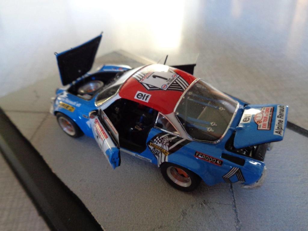 alpine a110 tour de corse  1973 kit provence miniature 15937110
