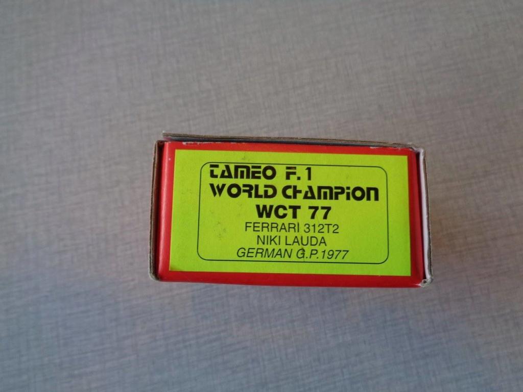 un pas a pas ferrari 312t2 niki lauda gp allemagne 1977 kit tameo 20449311