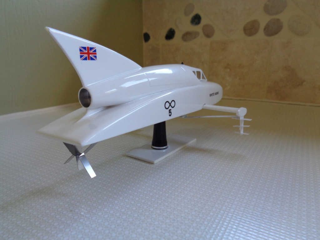 white hawk record boat kit touchwood models 37295110