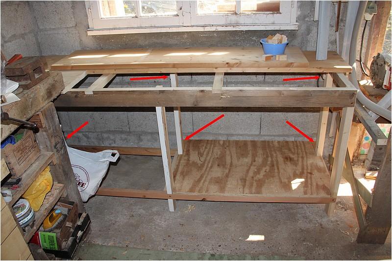 Aménagements atelier - 1 - Plan de travail sous la fenêtre. Img_9015
