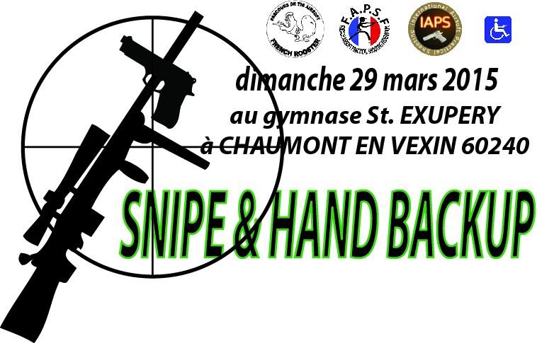 "en concours en mars 2015 ""SNIPE & HAND BACKUP"" Entyte10"