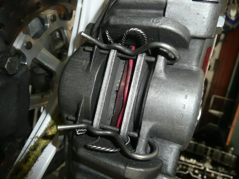 Platines de frein sur mesure 12p11610