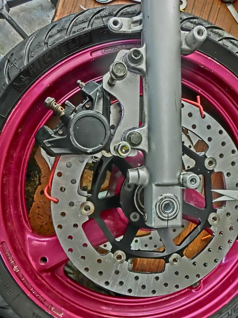 Platines de frein sur mesure 13patt10