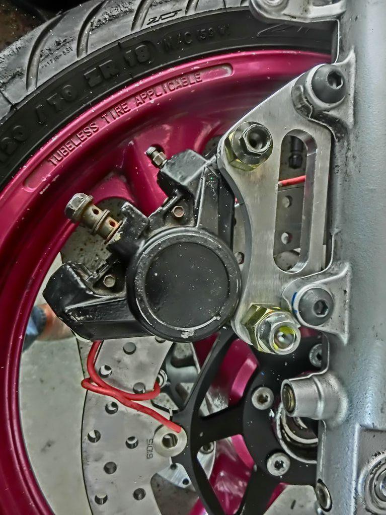 Platines de frein sur mesure 14patt10