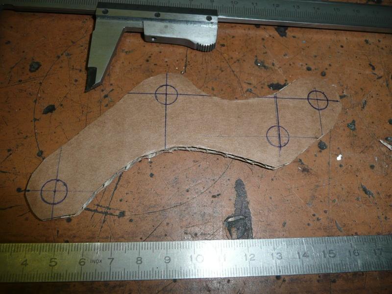 Platines de frein sur mesure 1pince10