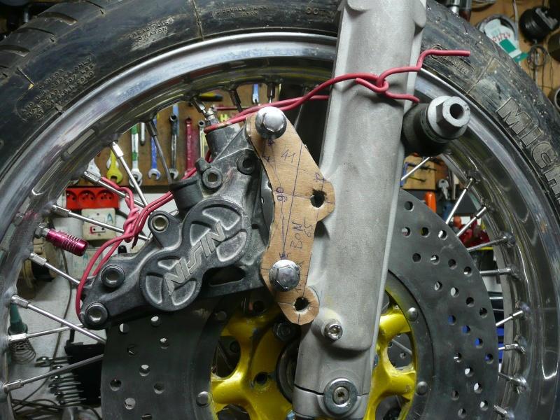 Platines de frein sur mesure 2pince10