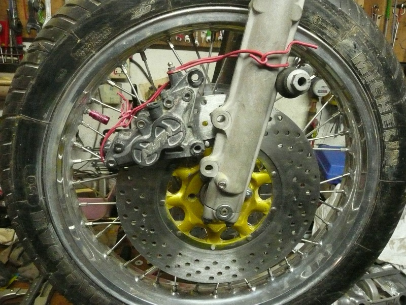 Platines de frein sur mesure 3pince10